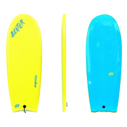 Catch Surf Beater Finless (Yellow/Blue) Surfboard