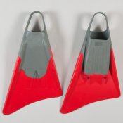 Freedom Fins  (Grey/Red)