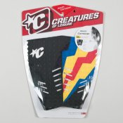 Creatures Arron Cormican Tailpad (Blue/Yellow/Red)