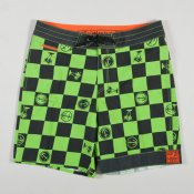 Vans Captain Fin Boardshort 19 (Green/Black)