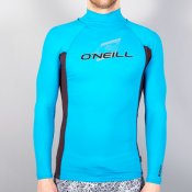 O'Neill Mens Skins Long Sleeved Turtle Neck (Sky/M
